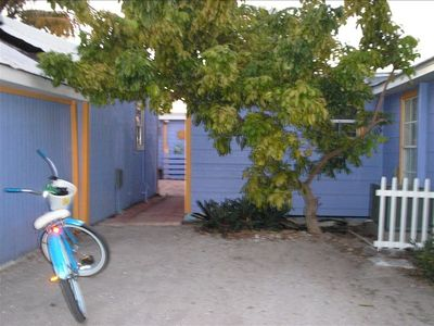Pine Island house rental - Courtyard- have bike / will travel