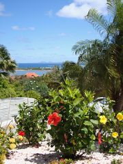 Orient Bay villa photo - Garden and parking