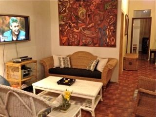 "Livingroom with 42"" plasma TV and Time Warner Cable as well as Wifi internet"