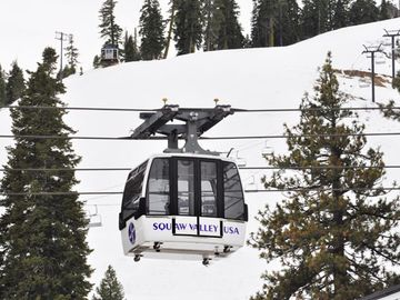 Arial Tram at Squaw Valley Ski Resort
