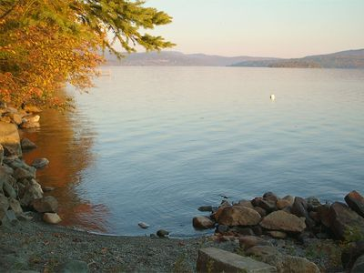 Rangeley Lake cabin rental - Easterly View