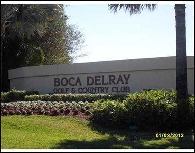 Delray Beach condo rental - Main Entrance