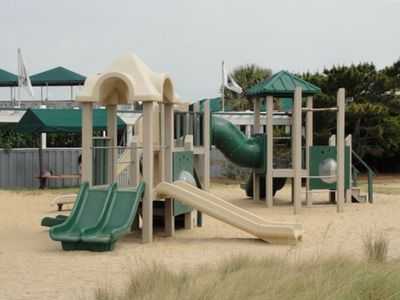 Kids will have hours of fun at the playground