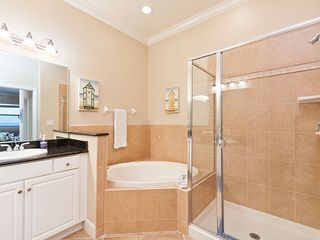 Palm Coast condo photo - The master bathroom features a walk-in shower
