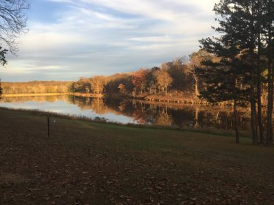 Enjoy Your Own Private 17 Acre Lake At The Taylor Lodge