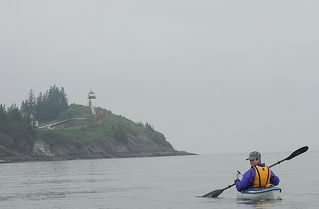 Owls Head apartment photo - Kayaking Around the Lighthouse (Kayak Included with Rental)