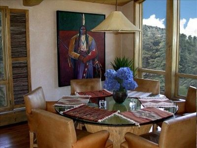 Dining Area With Gore Creek View!