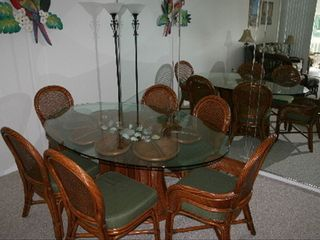 Bradenton condo photo - Dining area, seating for 6