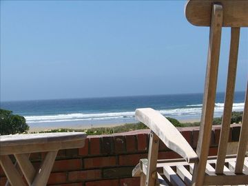 Morro Bay house rental - View of the Pacific Ocean & Beach from the Patio & Living Room