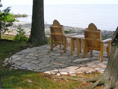 Gills Rock house rental - Fresh Air, Fresh water, Relax with the sun and waves!