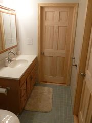 Conway chalet photo - brand new master bath! new trim, doors, walls,...