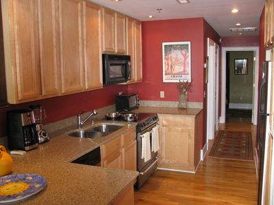 Asheville condo rental - Gourmet kitchen fully equipped