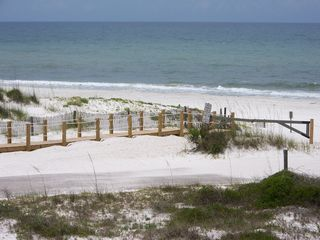 Cape San Blas house photo - Boardwalk to beach, this road has been closed to thru traffic