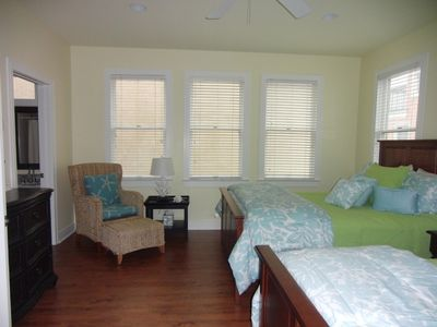 Dewees Island house rental - .Second Floor Bedroom with 2 Queen Beds