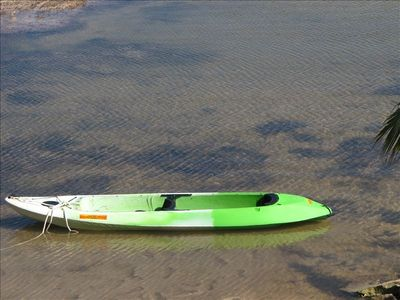 tandem glass bottom Kayak