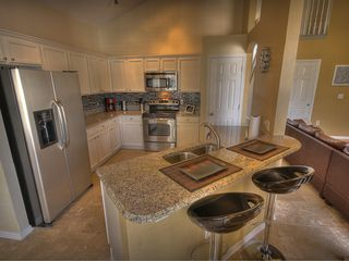 Formosa Gardens villa photo - Large gourmet kitchen with granite counters and island, brand new appliances