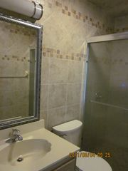 Blowing Rock cottage photo - The Hall Bath has a shower with sliding glass doors....easy entry.