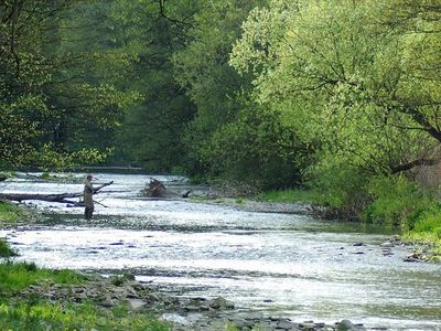 Fly fishing on Valley River and the nearby Nantahala