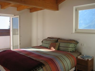 Upper Level Master Bedroom with Balcony & Private Bath-Views!