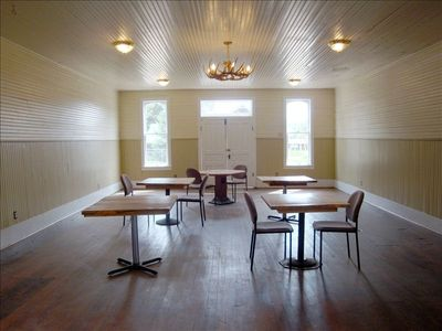 Dance Hall. Great for Weddings and Parties at $200 a day.