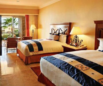 Two Bed Bedroom at the Pueblo Bonito Sunset Beach