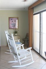 Gulf Shores condo photo - Enclosed Balcony with Rockers to Relax...just Relax