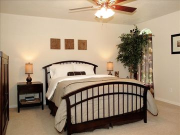 1 of 3 bedrooms-All bedrooms feature ceiling fans