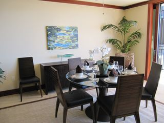 Ko Olina villa photo - Beautiful dining furniture