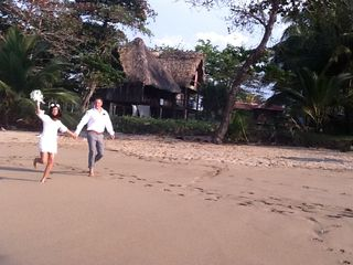 Cabarete estate photo - wedding on the beach at Casa Maravilla