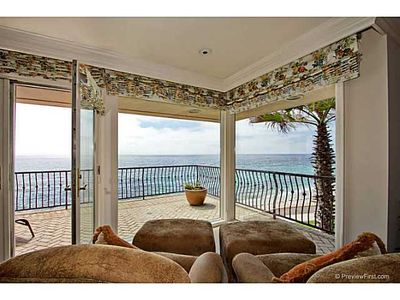 La Jolla house rental - Master bedroom - view