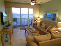 2nd Floor Beach Front  - 2 BR+ Bunk Room + Private Parking Underneath the Condo