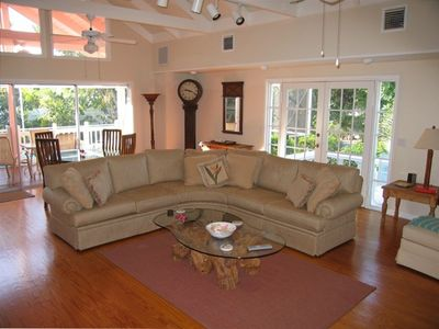 Sanibel Island house rental - Family/Living room
