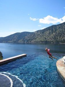 Lake Chelan villa rental - Reckless abandon...well, not really, but they sure feel like it.