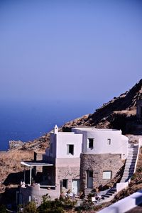 Designer's sophisticated villa with full privacy in the heart of Chora Serifos
