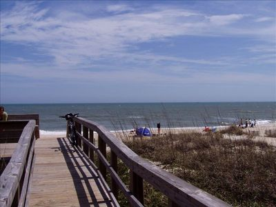 Carolina Beach townhome rental - Boardwalk