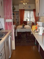 11th Arrondissement Bastille apartment photo - Kitchen view on dining room
