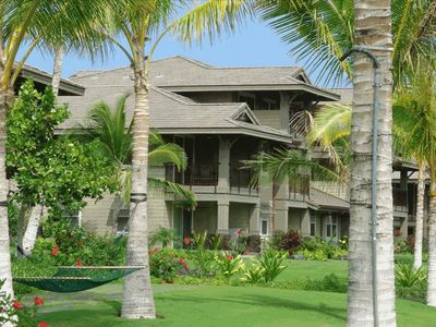 Waikoloa Beach Resort condo rental - Upper corner end unit
