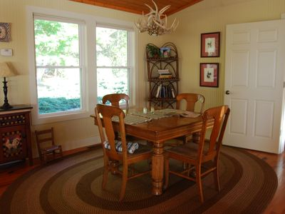 Dining room, table expands to seat 8