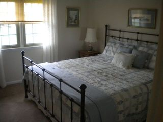 Vermilion house photo - Master bedroom with lake view