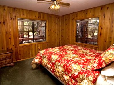 Master Bedroom with Queen Bed and Large Closet