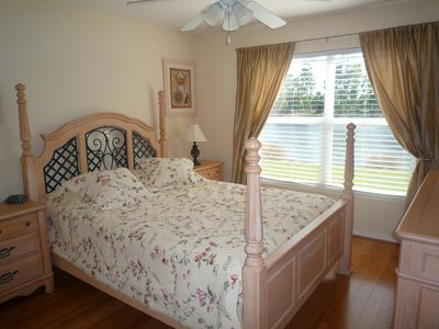 Naples house rental - Pristine lakeview from queen bedroom