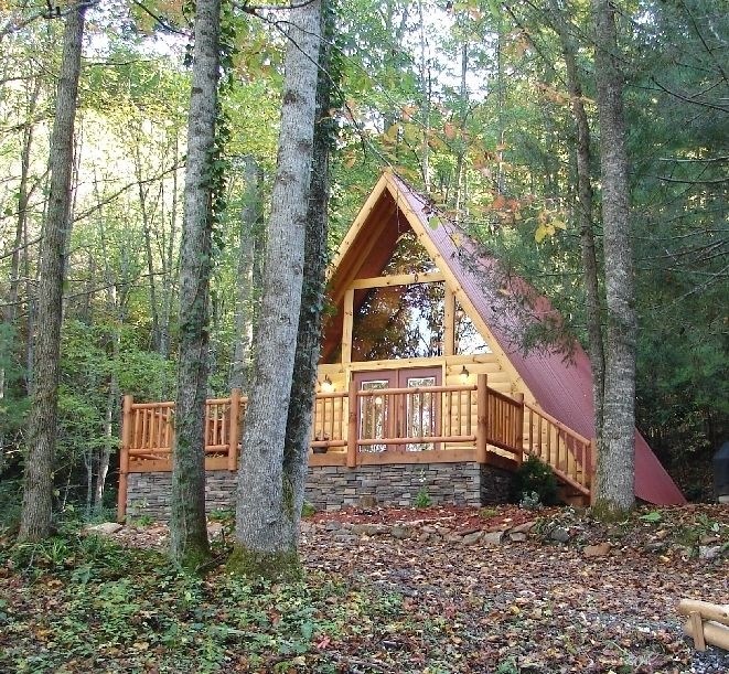 property image2 a frame log cabin in the woods wifi