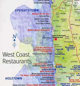 Location near all the best Restaurants on the West