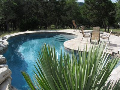 Tropical paradise in the Texas Hill Country!