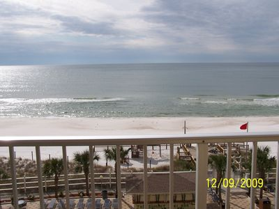 Spectacular views of the gulf from your private balcony