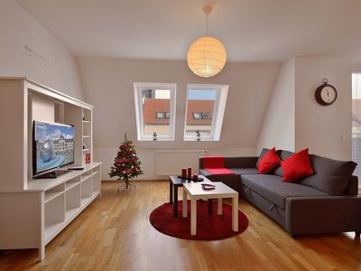 image for Apartment in Bratislava with Terrace, Lift, Parking, Balcony (561100)