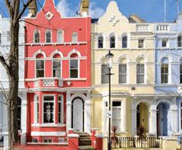 Look and feel of Notting hill houses....