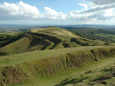 British Camp on the Malvern hills