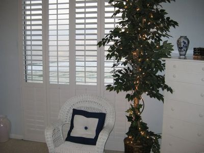 PLANTATION SHUTTERS OPEN OUT FOR FULL VIEW