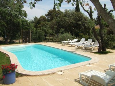 House cottage with pool in Eygalières in the heart of the natural park of alpille